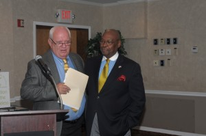 Chairman of the Board of Directors, Jim Campbell, with Executive Director Eugene Williams